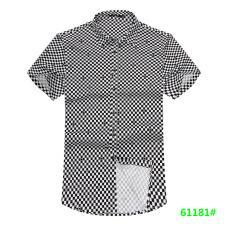 喜登威时尚品牌男装短袖衬衫61181款