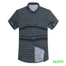 喜登威时尚品牌男装短袖衬衫61227款