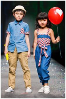时尚标尺童装155846款