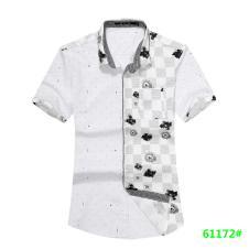 喜登威时尚品牌男装短袖衬衫61172款