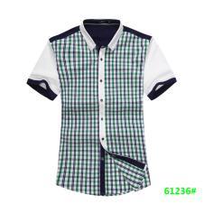 喜登威时尚品牌男装短袖衬衫61236款