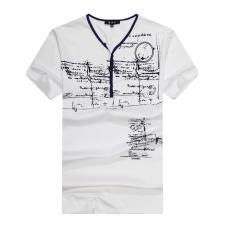喜登威时尚品牌男装短袖t恤66172款