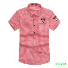 喜登威时尚品牌男装短袖衬衫61179款