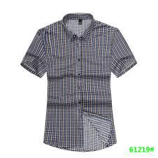 喜登威时尚品牌男装短袖衬衫61219款