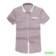 喜登威时尚品牌男装短袖衬衫61242款
