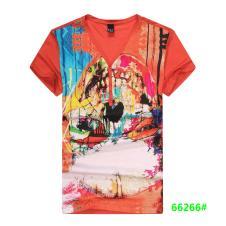喜登威时尚品牌男装短袖t恤66266款
