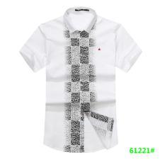 喜登威时尚品牌男装短袖衬衫61221款
