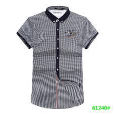 喜登威时尚品牌男装短袖衬衫61240款