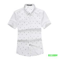 喜登威时尚品牌男装短袖衬衫61168款