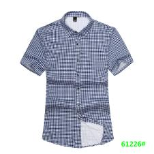 喜登威时尚品牌男装短袖衬衫61226款