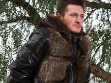 男装皮革外套