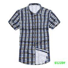 喜登威时尚品牌男装短袖衬衫61220款