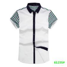 喜登威时尚品牌男装短袖衬衫61235款
