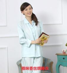 雅咪香丝绸睡衣样品