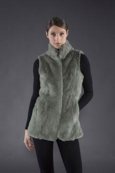 Adrienne Landau皮革皮草160465款