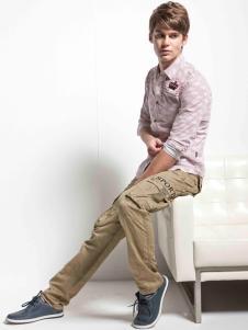 利通纯棉长裤样品