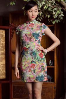 格格女装旗袍样品
