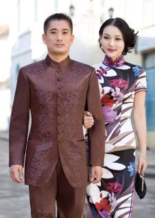 华人礼服·中山装男装165834款
