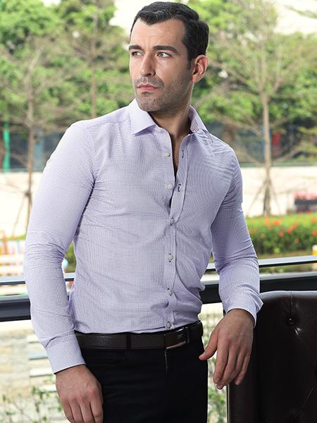 富绅VIRTUE男装春款衬衫