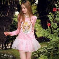 粉红小布娃娃Pink  Doll精品女装
