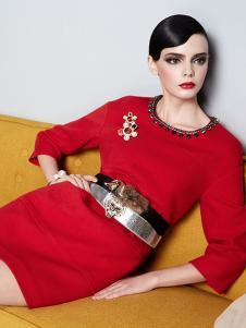 红贝缇女装170641款