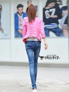 纯儿牛仔裤