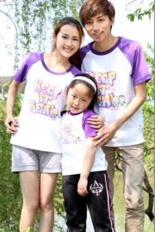 E彩彩图 E-CAI 2012春夏亲子装 T恤