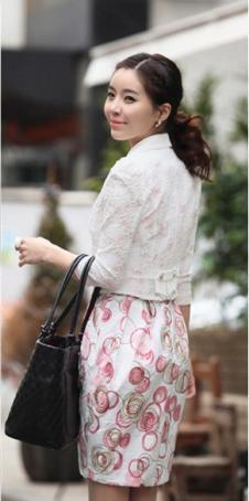 花之薇韩版女装 连衣裙