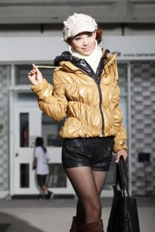 新富群女装 FUQUN 韩版女装 羽绒衣