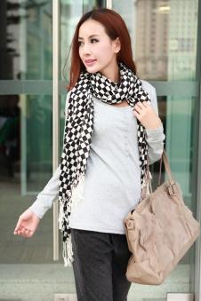 新富群女装 FUQUN 韩版女装 长袖T恤