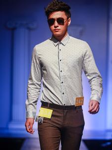 99cm男装纯色长袖衬衫