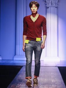 99cm男装开衫针织衫