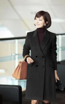 新富群女装 FUQUN 韩版女装 大衣