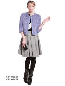 百图betu女装冬款紫色外套