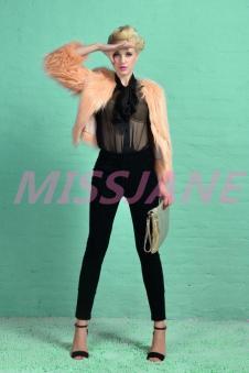 蜜丝珍妮女装181863款