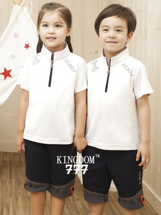 kingdom777儿童园服定做