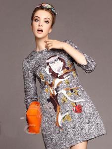 珊版丽女装185954款