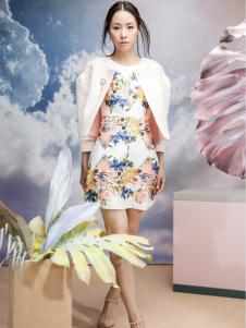 艾露伊印花裙