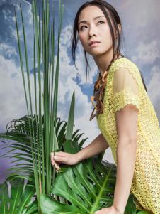 艾露伊黄色裙子
