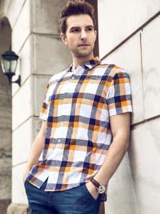 步西尼衬衫