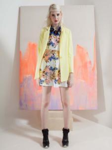 艾露伊黄色外套