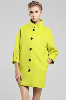 羊毛羊绒大衣