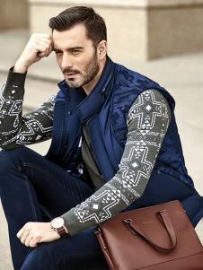 布鲁斯金熊2015冬款时尚外套