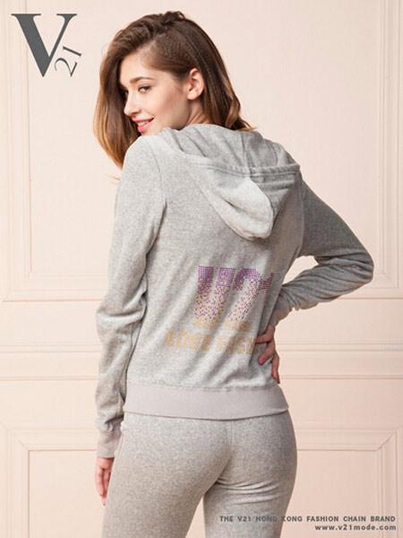 V21时尚女士卫衣套装