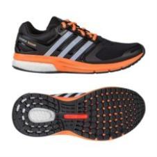 adidas 阿迪达斯 跑步 女子 boost 跑步鞋 一号黑 B40172