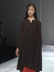 因为ZOLLE女装2015新品中长款棉麻外套