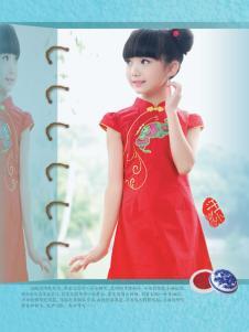 汪小荷2015夏季红色旗袍