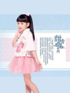 汪小荷中式女童装