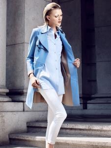 欧兰卡蓝色外套