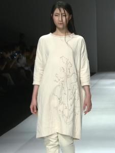 因为ZOLLE女装新款白色打底裙